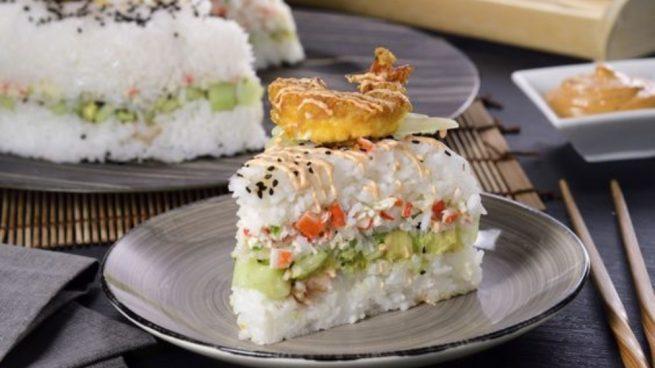 Rosca de arroz con marisco