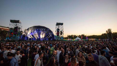 El escenario principal del festival Paraíso 2019 de Madrid.