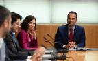 Ignacio Aguado, líder de C's en Madrid en la reunión con Isabel Díaz Ayuso, dirigente del PP @Twitter