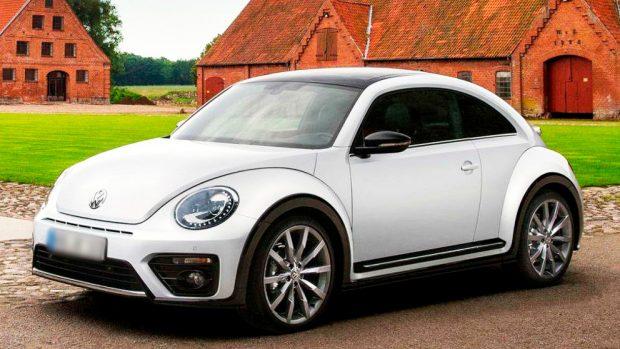 Un VolksWagen Beetle similar al que el nieto de Franco regaló a la presentadora Marta Flich.