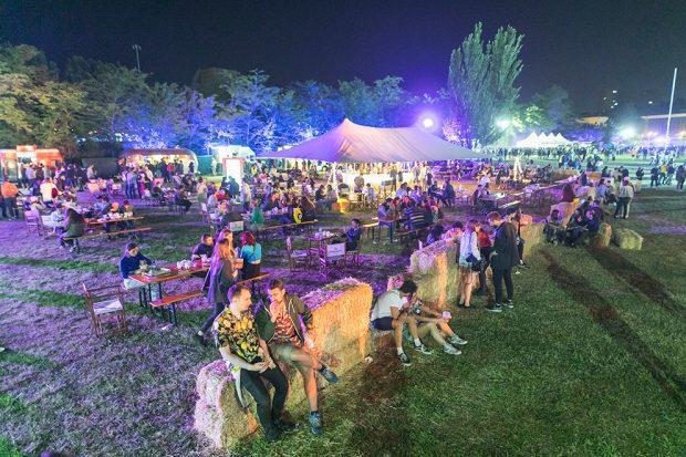 Ambiente en el festival Paraíso 2019 de Madrid.