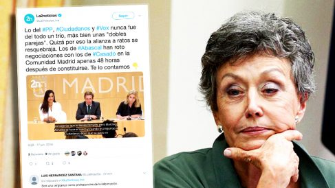 Rosa María Mateo, administradora provisional única de RTVE.