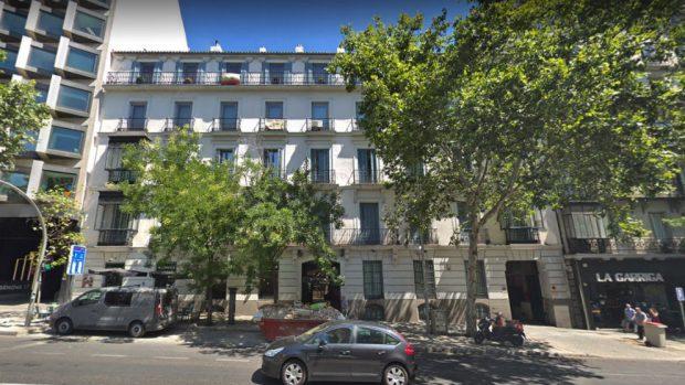 Edificio de la calle Génova, 19, en el que el nieto de Franco alquiló un apartamento de lujo para Marta Flich.
