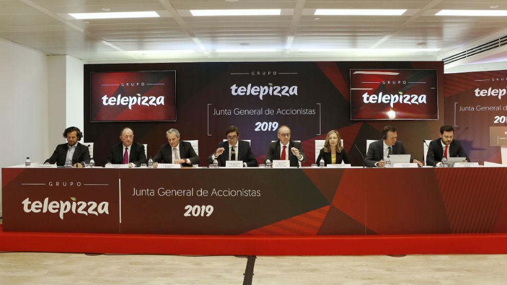 Junta General de Accionistas (JGA) del Grupo Telepizza (Foto: Telepizza)