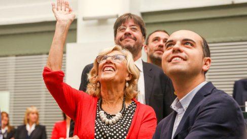 Manuela Carmena en un acto. Foto: Europa Press
