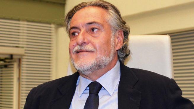 Pepu Hernández en el Pleno de Madrid, en el Palacio de Cibeles. (Foto. PSOE)
