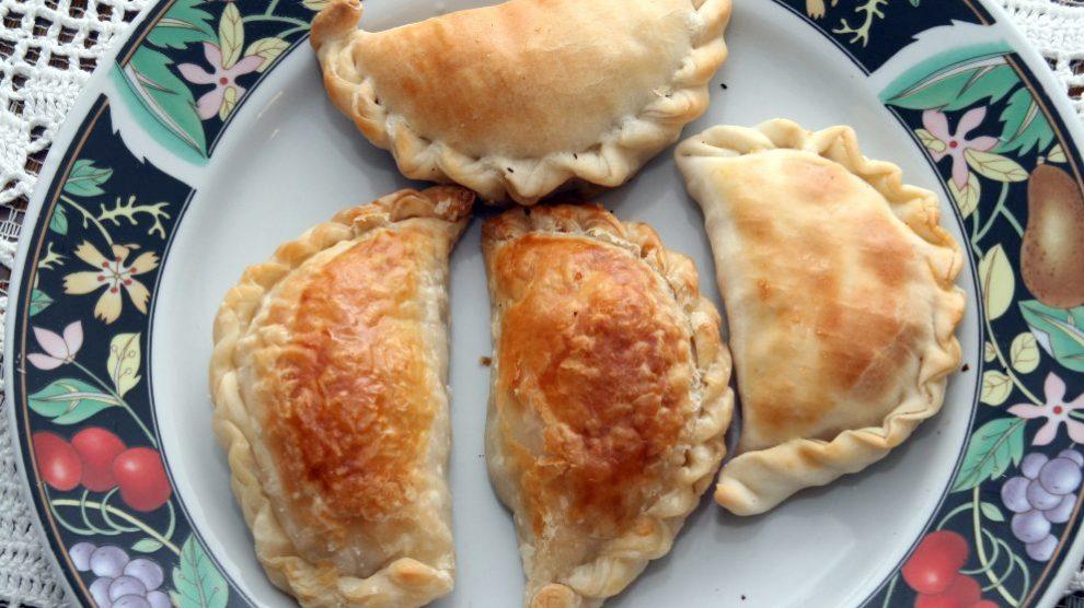 Receta de Empanadillas rellenas de manzana y frutos secos