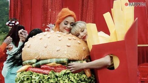 Taylor Swift y Katy Perry, unidas de nuevo