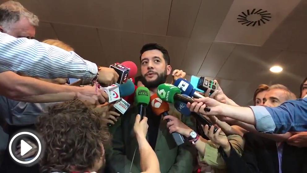 César Zafra, número dos de Ciudadanos Madrid @Twitter