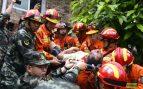 Varias víctimas mortales tras dos seísmos al sur de China @AFP