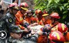 Dos terremotos al sur de China deja una decena de víctimas mortales