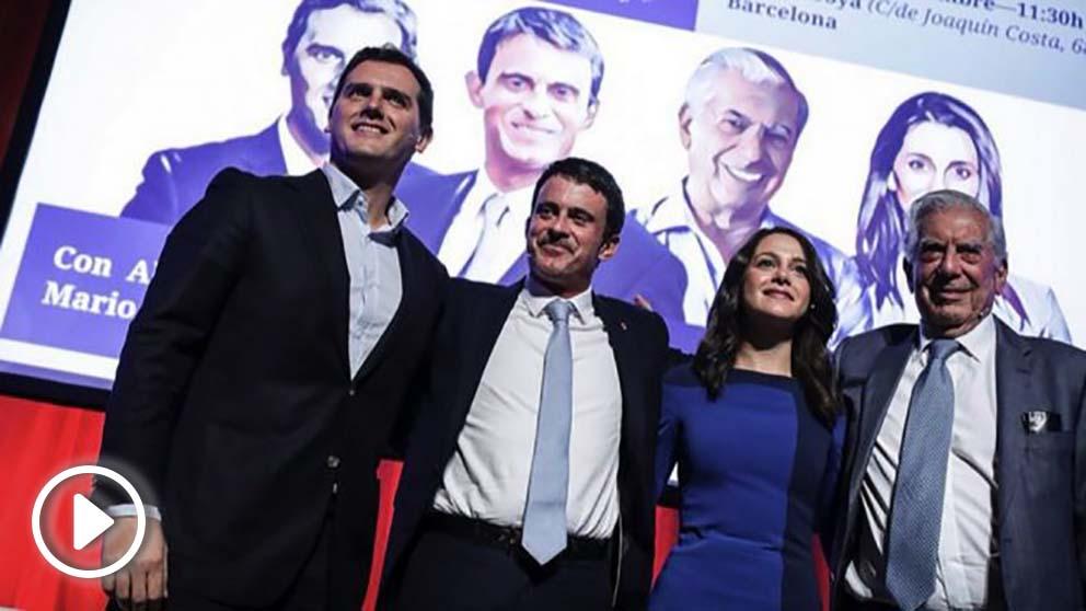 Albert Rivera y Manuel Valls . (Foto. Cs)