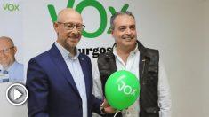 El portavoz de Vox en el Ayuntamiento de Burgos, Ángel Martín @Twitter