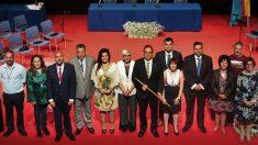 El alcalde de Leganés con los concejales de la nueva Corporación. (Foto. Ayuntamiento)