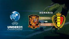 España – Bélgica: horario y dónde ver el partido de la selección sub21.