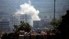Ataques de los huthies sobre zonas controladas por Arabia Saudí (Foto: AFP)