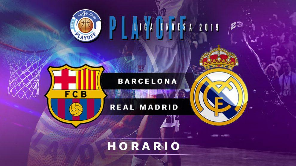 Barcelona – Real Madrid: horario de la final de la Liga Endesa.