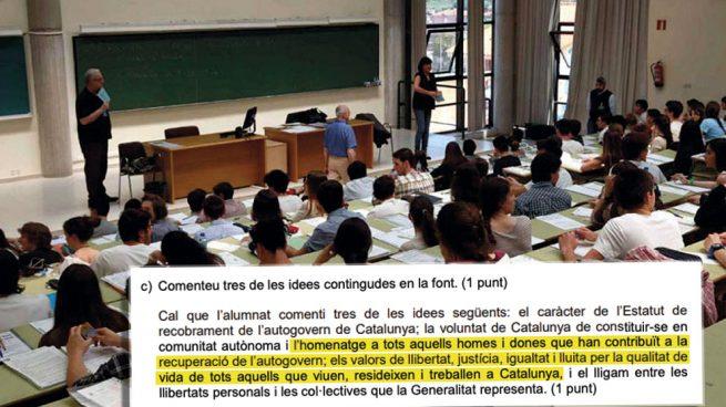 Generalitat Selectividad
