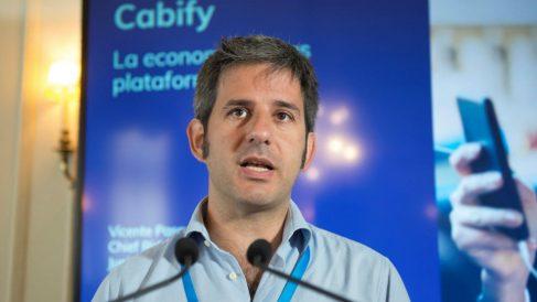 Vicente Pascual, CEO de Cabify