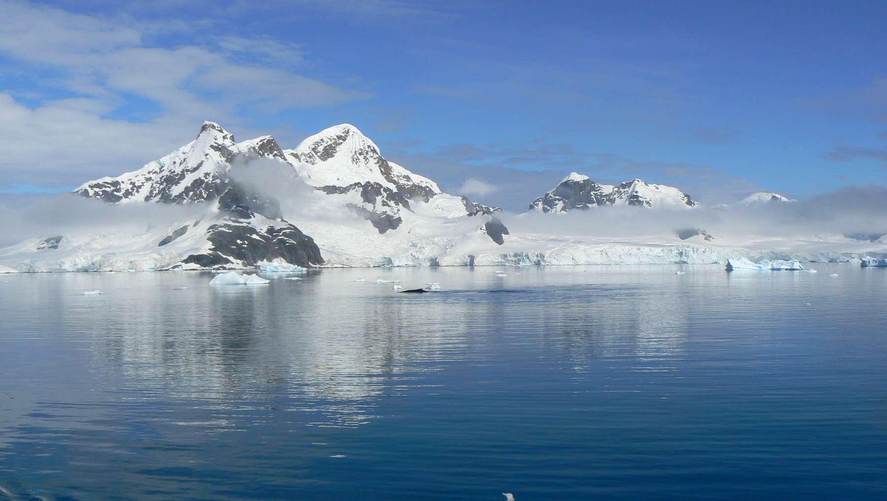 Clima y la temperatura del agua en la Antártida