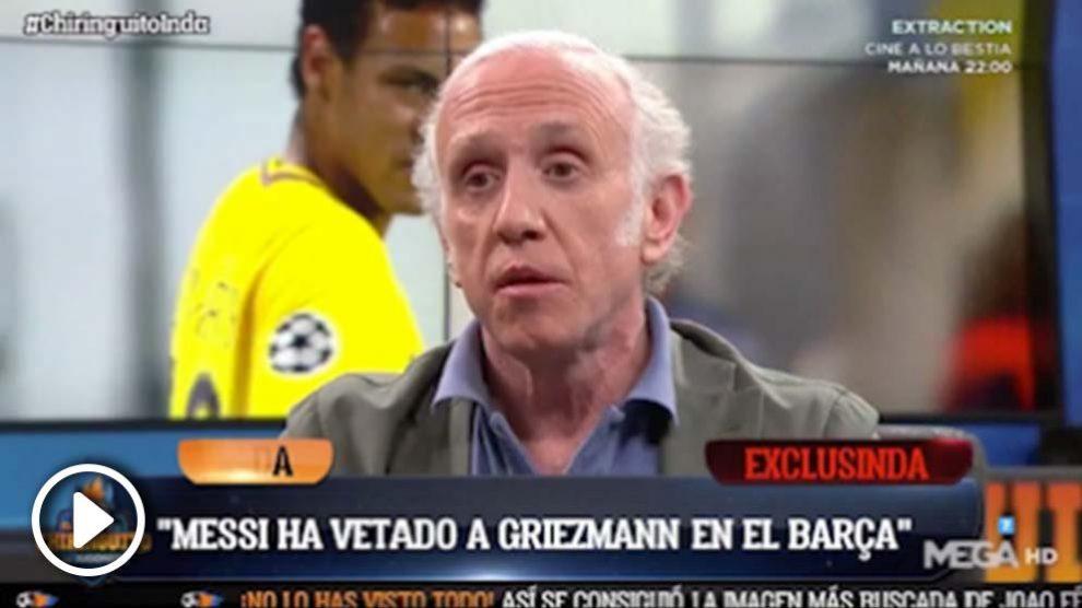 Messi no quiere a Griezmann vestido de culé.