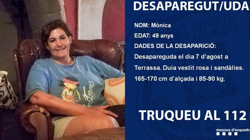 Un detenido por la desaparición de una mujer en Terrassa en agosto de 2018