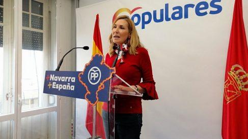 La presidenta del PP en Navarra y diputada por Madrid en el Congreso, Ana Beltrán. Foto: EP
