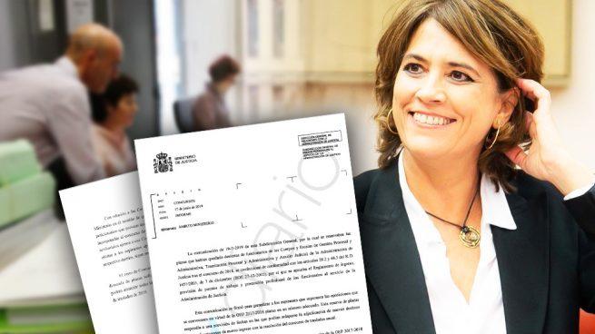 Delgado rectifica: dará preferencia a los funcionarios de Justicia en los traslados como exige la ley