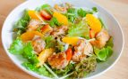 Receta de ensalada de naranja y pollo
