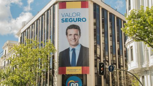 Sede del PP en la calle Génova @Getty