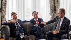 Goirigolzarri (Bankia), Huertas (Mapfre) y Gual (Caixabank)