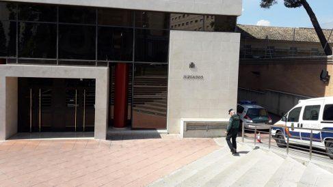 El juzgado de Granada donde se investiga el caso de la asociación de 'secuestraniños' Infancia Libre vinculada con Podemos. Foto: EP