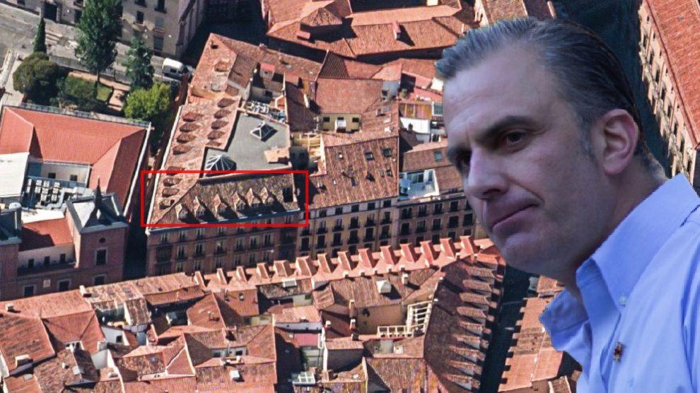 Javier Ortega Smith y las oficinas municipales de Vox.