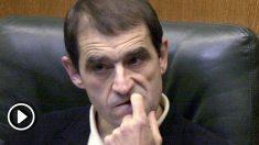 El terrorista Josu Ternera, durante su etapa como miembro de la Comisión de Derechos Humanos del Parlamento Vasco (Foto:  EFE/David Aguilar).