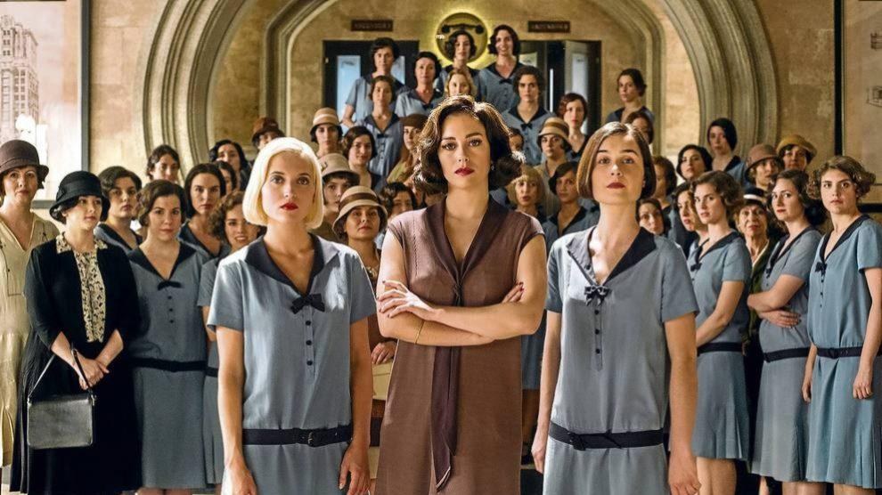 'Las chicas del cable', una de las series de éxito de Netflix.
