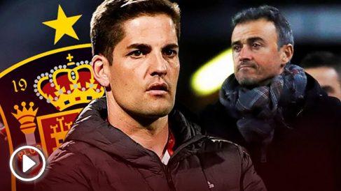 Luis Enrique deja la selección y Robert Moreno será su sustituto.