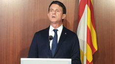 El concejal en el Ayuntamiento de Barcelona y ex primer ministro de Francia, Manuel Valls. (Foto: Europa Press)