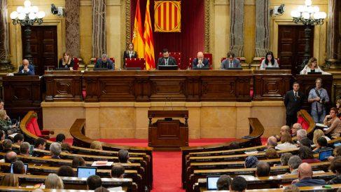 Parlament de Cataluña. Foto: EP