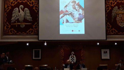 Presentación del congreso Católico y Vida Pública organizada por la ACDP. Foto: EP