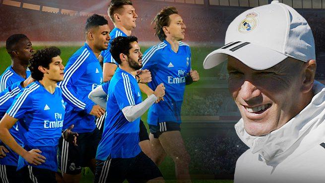 Zidane avisa: «Nos espera una pretemporada muy dura»