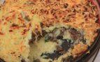 Pastel de carne y patata al horno