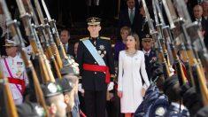 Los Reyes de España Felipe Vi y Letizia en un acto oficial. Foto: EP
