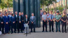 Homenaje a las víctimas de ETA en Barcelona (Foto: EP)