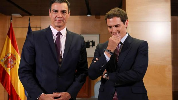 albert-rivera-pedro-sanchez