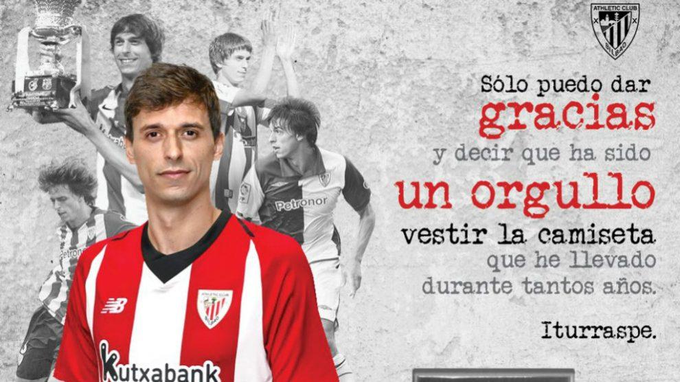 Ander Iturraspe se despide del Athletic (@Ander8Iturraspe)