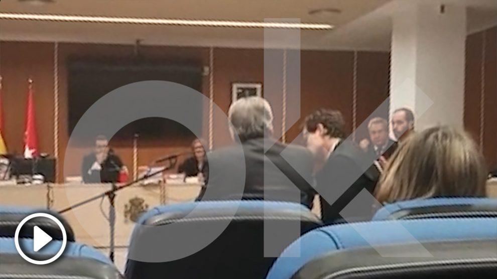 Luis Bárcenas declara en el juicio por los ordenadores destruidos por el PP