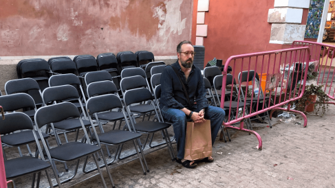Juan Carlos Girauta en las calles de Toledo @Redes Sociales