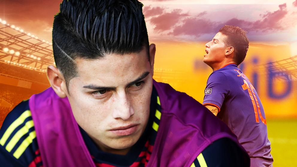 El Real Madrid quiere vender a James de forma definitiva.