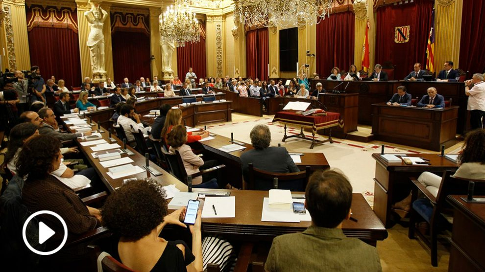 Constitución del Parlamento de Baleares
