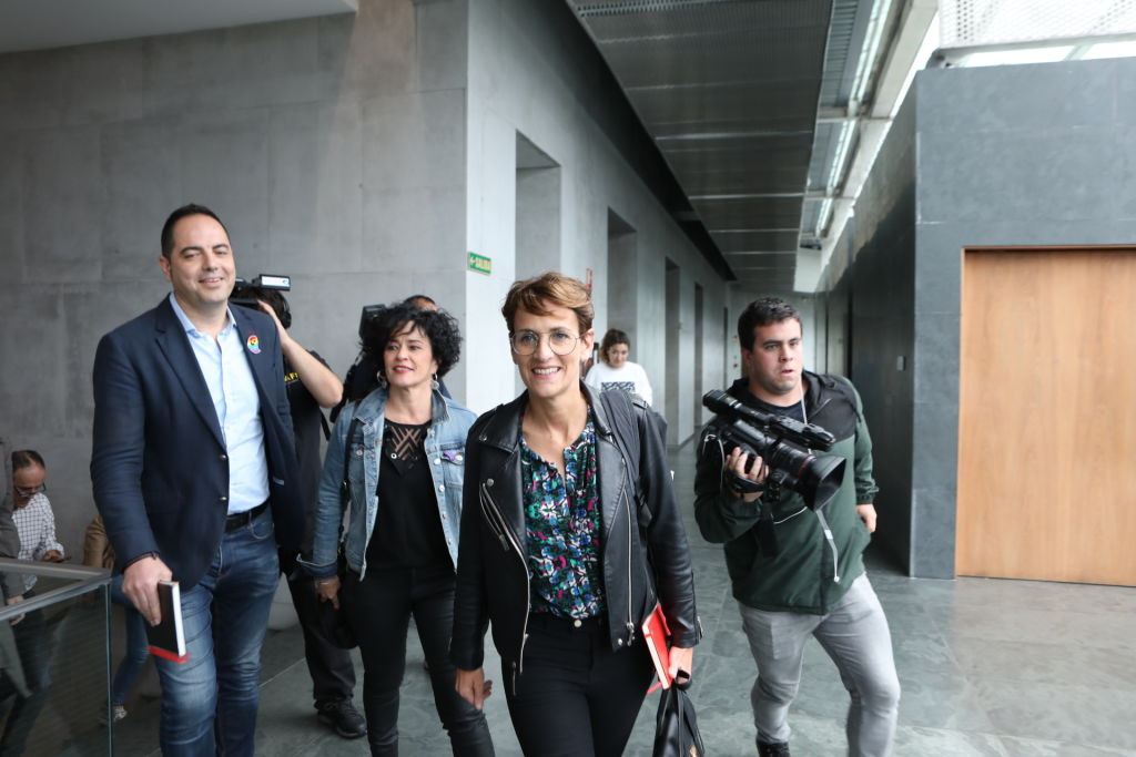 María Chivite, presidenta de Navarra. @Getty